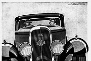 """Vintage Car Ads"" 