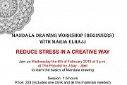 Mandala Drawing Workshop for Beginners at J-Bay