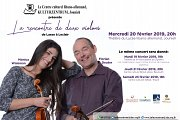 Concert: la Rencontre de Deux Violons
