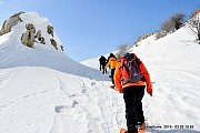 Jabal Mar Semaan Snowshoeing with Wild Adventures