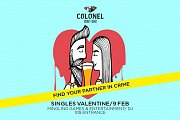 Singles Valentine at Colonel Beer