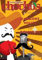 Karaoke Night with CHOCHO'S every Friday