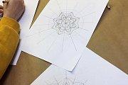 Mandala and Landscape Drawing at Alwan Salma