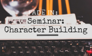 Seminar: Character Building with FADE IN: