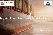 Logistics: How to Tailor a Shipment and Reduce Cost