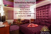 Valentine's at Princessa Hotel