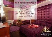 Valentine's at Princessa Hotel