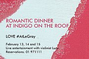 Valentine's at Indigo on the Roof
