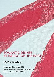 Valentine's at Indigo on the Roof