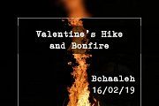 Valentines Hike and Bonfire with Bchaaleh Trails