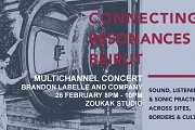 Concert: Connecting Resonances I