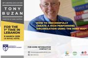 TONY BUZAN - Creator of Mind Map in Lebanon for a Leadership Training