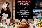 Live Cooking by Italian Blogger Magda Beverari @ THE WOODEN CELLAR
