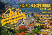 HIKING & EXPLORING Deir El Qamar with LEBANON OUTDOOR ACTIVITIES