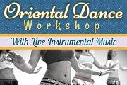 Oriental Dance Workshop With Live Tabla Music