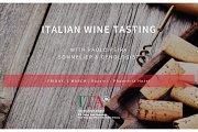 Italian Wine Tasting at Rossini