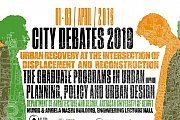 City Debates 2019 - Urban Recovery