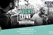 Tuesday Night Live with Les Croquenotes