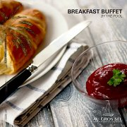 Let's Breakfast By the Pool - Au Gros Sel