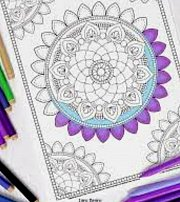 Mandala Coloring at Glamour Spirit