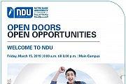 Open Doors, Open Opportunities | NDU