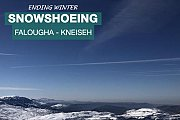 Snowshoeing Falougha - Jabal el Kneiseh