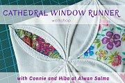 Cathedral Window Runner at Alwan Salma