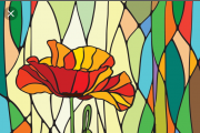 Stained Glass Workshop at Le Lilas Flower Lounge