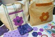 Patchwork Tote Bag at Alwan Salma