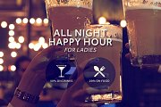 Ladies Happy Hour at Tonic Café Bar
