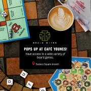 Board Games Night | Brain Bites x Cafe Younes