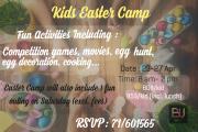 Kids Easter Camp at BU