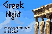 Greek Night at Blue Vinyl