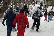 Snowshoeing Tannourine Forest Reserve with ProMax