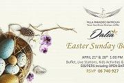 Easter Sunday Buffet at Villa Paradiso