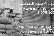 Lebanon Civil's War 1975-1990