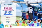 M2amara at Lebanon's Biggest Ever Easter Egg-Hunt