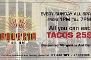 Sunday BBQ's at Taqueria