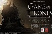 Game of Thrones Premiere in Lebanon at USJ-CST