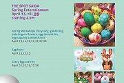 Easter Entertainment at the Spot Saida