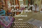 """Workshop on """"SIMPLE STEPS FOR STARTING YOUR BUSINESS"""""""