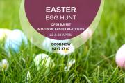 Easter Egg Hunt at Les Ateliers de Tyr