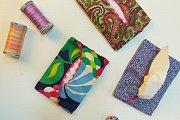 Fabric Tissue Holder at Alwan Salma