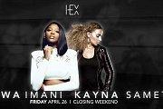 Awa Imani & Kayna Samet Live at Hex Beirut