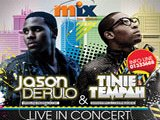 Jason Derulo, Tinie Tempah and Jeremih in Concert