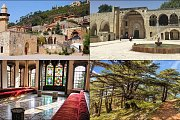Deir el Qamar, Beiteddine Palace and Shouf Cedars (Budget Tour) with Zingy Ride