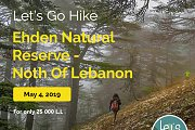 Let's Go Hike In Ehden Natural Reserve with Let's Go