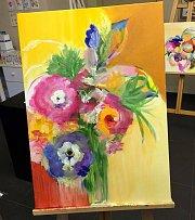 Painting at Alwan Salma