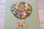Button Art at Alwan Salma