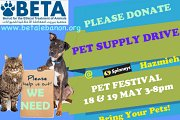 BETA's Pet Supply Drive @ SPINNYS Hazmieh PET FESTIVAL
